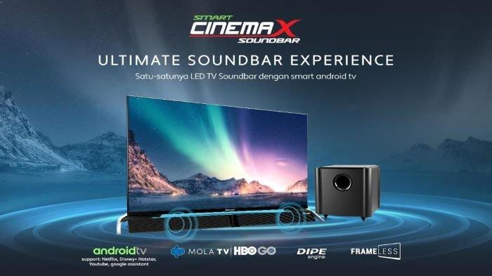 Smart Cinemax Soundbar, Satu-satunya LED TV Soundbar dengan Smart Operating System
