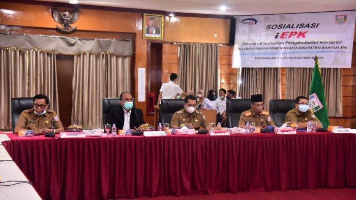 Pemkab Banyuasin Siap Jadi Kabupaten Bebas Korupsi