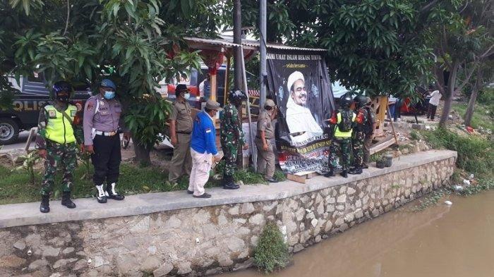 Spanduk-spanduk HRS Kembali Dipasang Aliansi Ormas Kota Bekasi, Apa Tidak Takut Dibongkar Lagi?