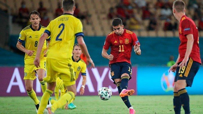 Link Live Streaming Swiss vs Spanyol Euro 2020 Live Mola TV, Ambisi Matador Redam Amukan La Nati
