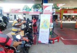 Momen Hari Kartini Pertamina Gratiskan Satu Liter BBM  Khusus Pembeli Wanita di 11 SPBU