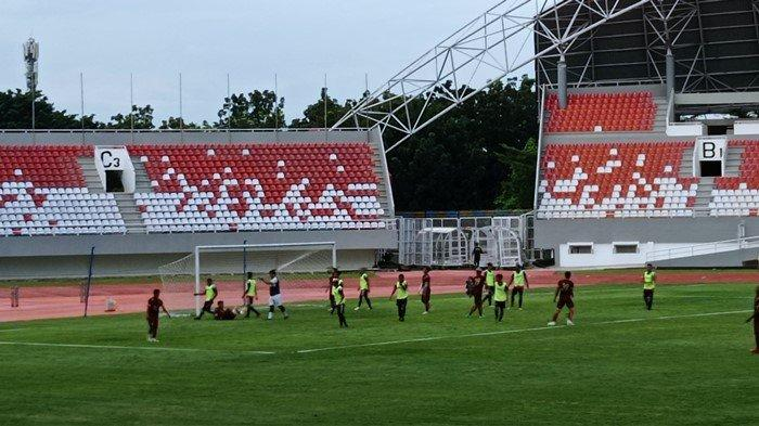 Roby Ciptakan Quintrick, Sriwijaya FC Pesta Gol Uji Coba Kontra Mutiara Hitam