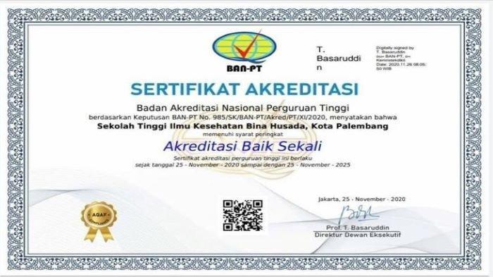 STIK Bina Husada Palembang Mulai Buka Pendaftaran, Ada 5 Program Studi Pilihan, Ada Fasilitas Asrama