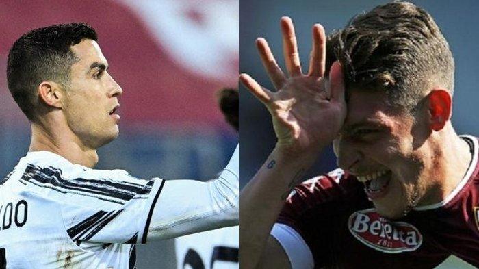 Prediksi Torino Vs Juventus, Laga Dimana Cristiano Ronaldo dan Andrea Belotti Mendadak Jadi Mandul