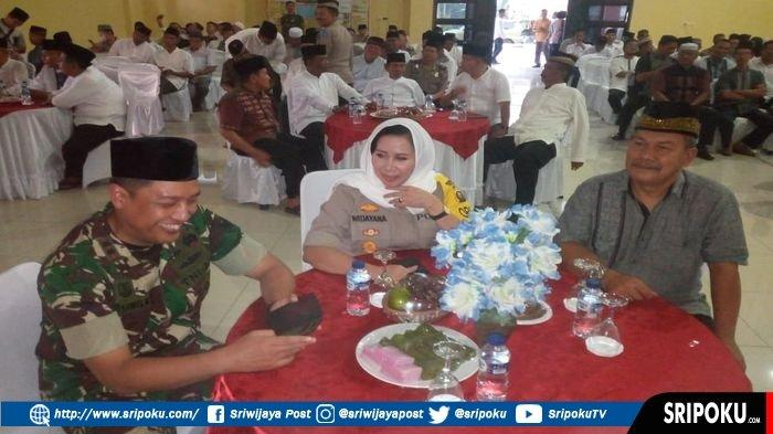 Polres OKU Gelar Buka Bersama di Pengujung Ramadhan, Doakan Keselamatan Petugas dan Pengendara