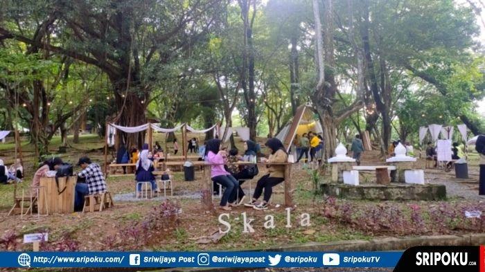 Kini Ada Kafe di Kawasan Bukit Siguntang Palembang, Outbond, Lomba Burung Berkicau & Tempat Rekreasi