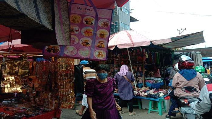 Copet Kambuhan Berkeliaran di Pasar 16 Ilir Palembang