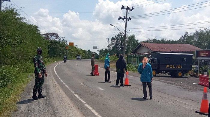 Perpanjangan Waktu Operasional Pos Penyekatan Polres OKU Timur Menunggu Informasi Polda Sumsel