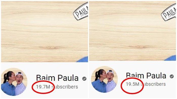 Subscribers Baim Paula