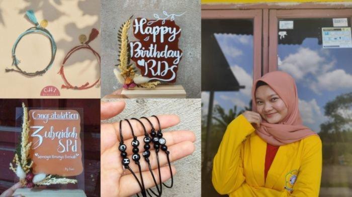 Berawal dari Hobi dan Nekat, Mahasiswi Ini Berhasil Kumpulkan Pundi-pundi Uang dari Produk Handmade