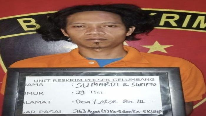 Setahun Buron Pencuri Pandrol Milik PT KA Ditangkap