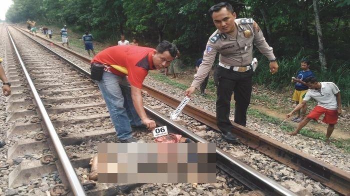 Sumiati Warga Gelumbang Tewas Ditabrak dan Diseret Kereta Api Sejauh 30 Meter, Kondisinya Tragis