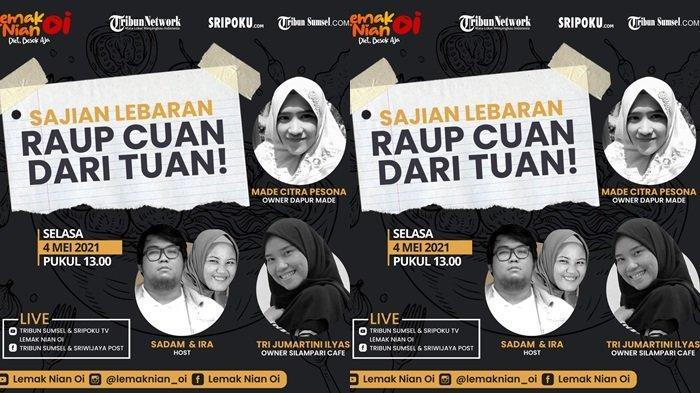 Sumsel Virtual Fest bersama Sripo-Tribun, Selasa (04/05/2021).