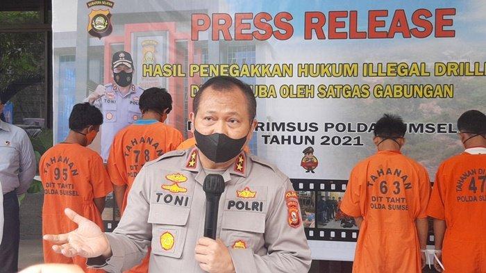 3 Lobang Rp 100 Juta, Ribuan Sumur Minyak Ilegal Ditemukan di Muba, Polda Sumsel Tangkap 6 Pelaku
