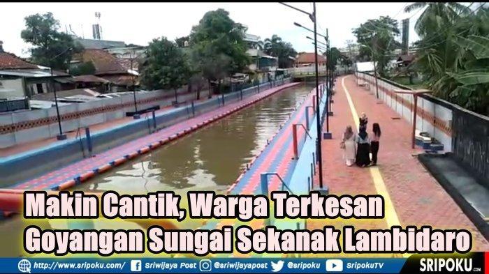 Warga Terkesan Goyangan Sungai Sekanak Lambidaro Palembang