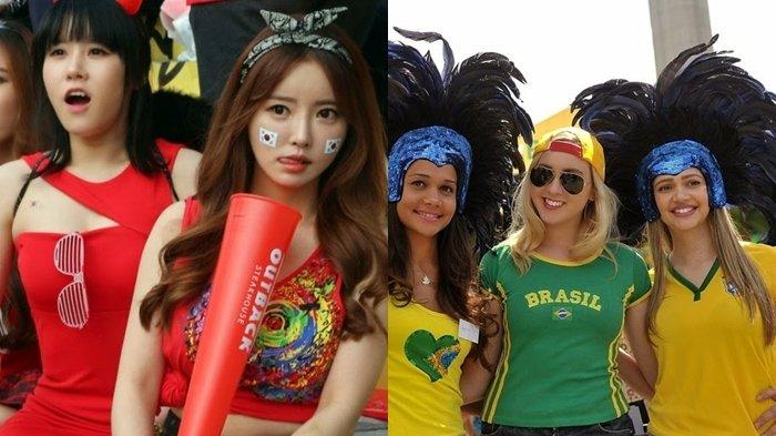 Simak Potret 8 Negara Miliki Suporter Cantik Warnai Piala Dunia 2018