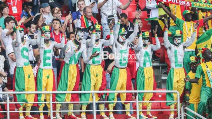 Menang Kontra Polandia, Fan Senegal Ucapkan Assalamualaikum untuk Indonesia dari Rusia
