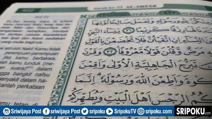 Benarkah Corona Sudah Disebutkan Dalam QS Al-Ahzab Ayat 33? Ternyata ini Penjelasan Jangan Main-main
