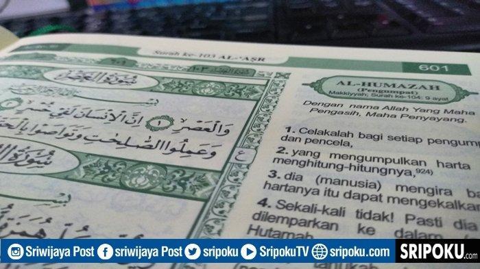 Keutamaan Juz Amma Surat Al-Humazah Berlindung dari Azab Neraka, Bacaan Lengkap 9 Ayat & Terjemahan