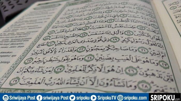 Bacaan Lengkap 29 Ayat Juz Amma At-Takwir, Tulisan Arab, Latin & Gambaran Kedahsyatan Hari Kiamat