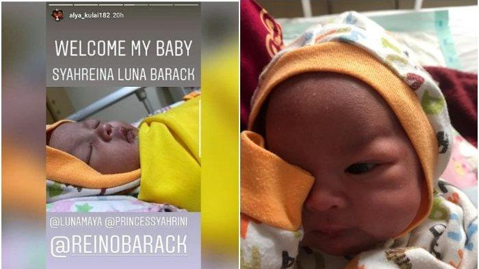 Syahreina Luna Barack, Nama Bayi yang Terinspirasi Kisah Syahrini, Reino Barack dan Luna Maya