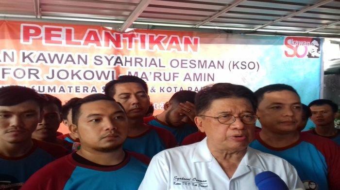 KSO Deklarasikan Dukungan, TKD KIK JKM Sumsel Makin Pede. Jokowi Bakal ke Sumsel