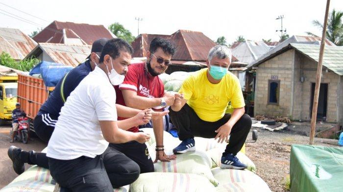 MENTAN Syahrul Yasin Limpo Sidak Harga Gabah di Sumsel, Sepakat Naiki Harga Gabah Rp 4.300 Perkilo
