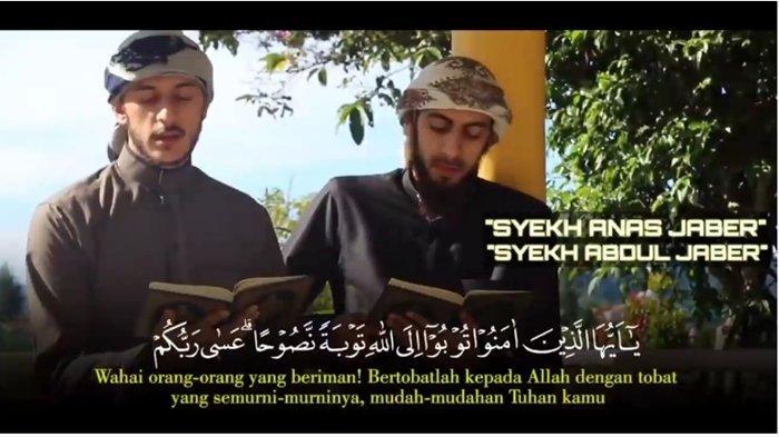 Syekh Abdul Jaber dan Syekh Anas Jaber