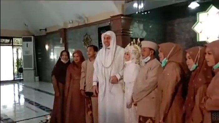 Syekh Hussein Jaber menikah (YouTube.com)
