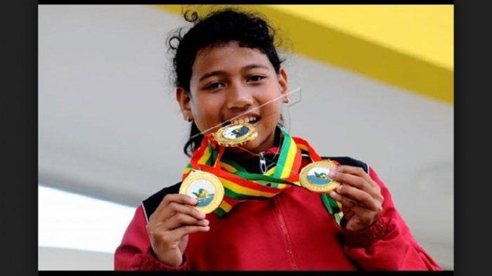 Atlet Renang Ini Persembahkan Medali Emas Setelah Sebelumnya Raih Perunggu di Asian Para Games 2018