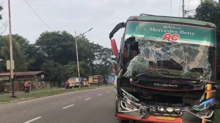 Kronologi Tabrakan Beruntun di Jalan Lintas OI, 3 Truk Tabrakan, Berawal Dari Hendak Putar Balik