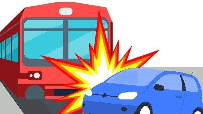Minibus Tertabrak Kereta Api di Ogan Ilir, 3 Penumpang Pasrah Usai Pintu Mendadak tak Bisa Dibuka