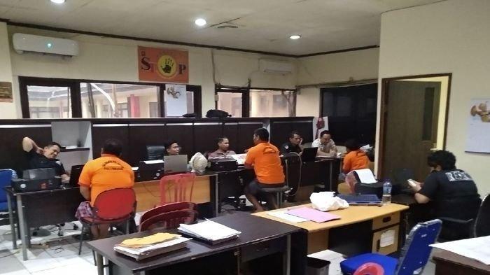 Lima Orang Tahanan Diperiksa Jadi Saksi  Atas Kaburnya 30 Orang Tahanan Narkoba Polresta Palembang
