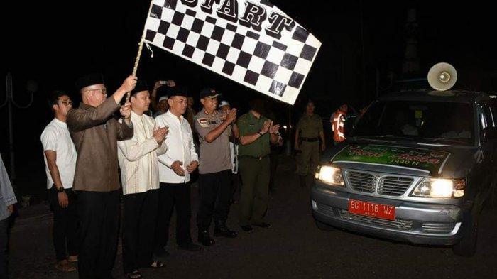 Ratusan Kendaraan Ikuti Pawai Takbir Keliling di Pagaralam