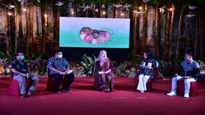 Talkshow informasi dan komunikasi publik mengenai Covid-19 serta Pemulihan Ekonomi Nasional yang digelar Pemkab Banyuasin.