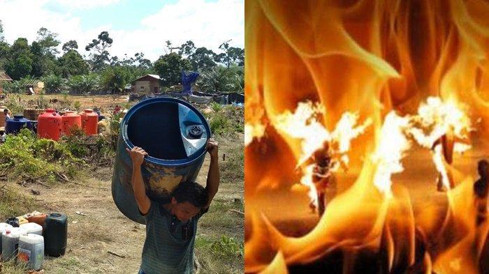 Kondisi 2 Warga yang Terbakar di Sumur Minyak, Ada Pembengkakan di Leher Korban Akibat Uap Panas
