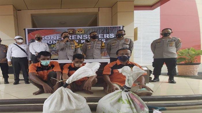Rano Karno Warga Muba & Pemilik Tambang Pasir Ilegal di Sekayu Ditangkap, Sering Bikin Jalan Longsor