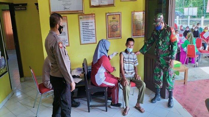 Serbuan Vaksin Sampai ke Pelosok Pedesaan di OKU