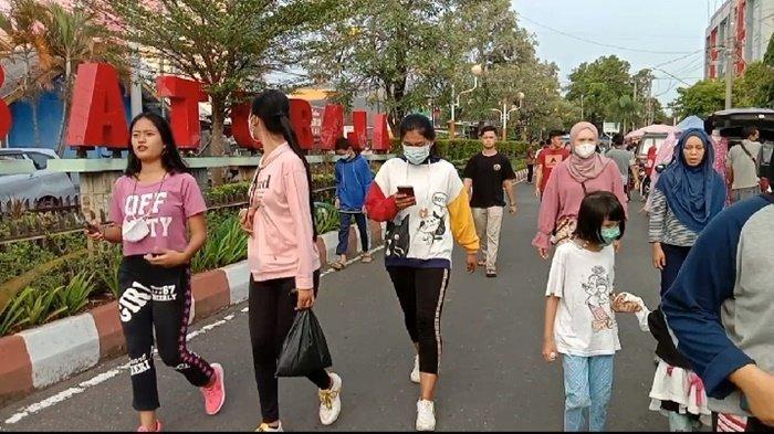 Taman Kota Baturaja Hidup Kembali, AKBP Danu: Masyarakat Diminta jangan Lepas Masker