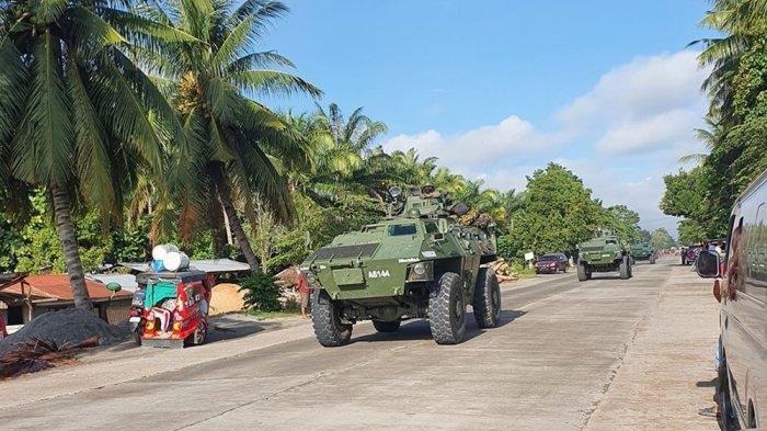 FILIPINA Memanas, Gerilyawan Pro ISIS Kuasai Kota Kecil, Militer Kerahkan Tank: Baku Tembak