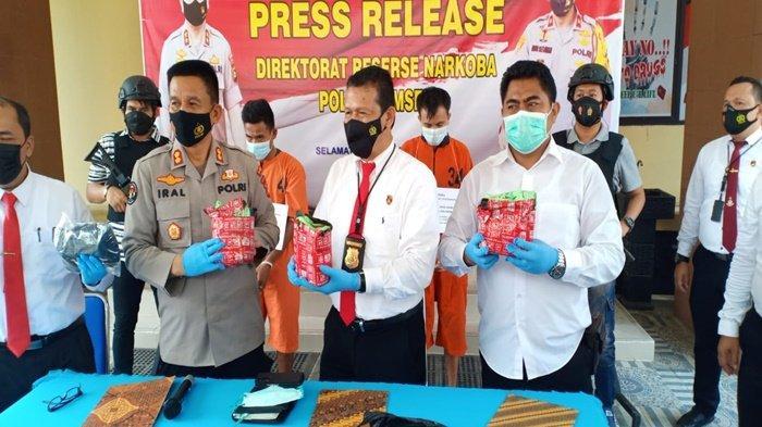 Diupah Rp 5 Juta, Warga Tangga Buntung Palembang Tergiur Ambil 3 Kg Sabu dari Padang