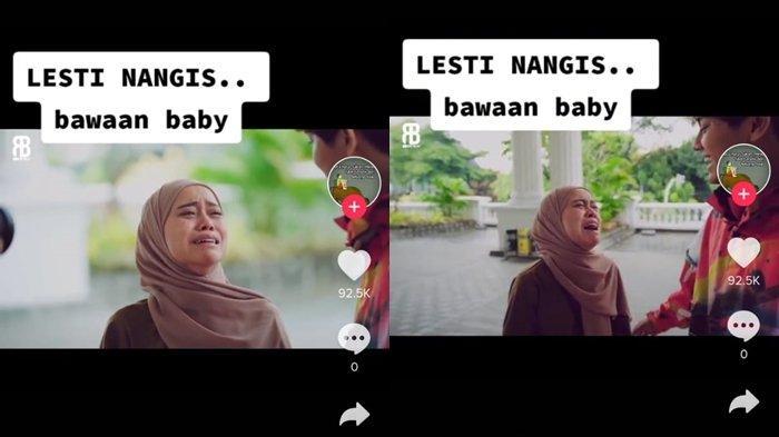 Tangis 'Aneh' Lesty Depan Rizky Billar di Bulan Agustus Terjawab, Akun Ini Bongar Alasan Pasti: Baby