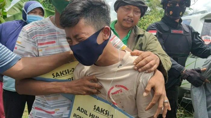 Tangis Histeris Anak Semata Wayang, saat Saksikan Ayahnya Dibunuh Teman Korban