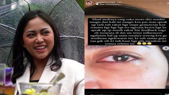 'Seakan Sampah', Tangis Rachel Vennya Pecah Namanya Dibully Habis-habisan dalam Forum Online: Trauma
