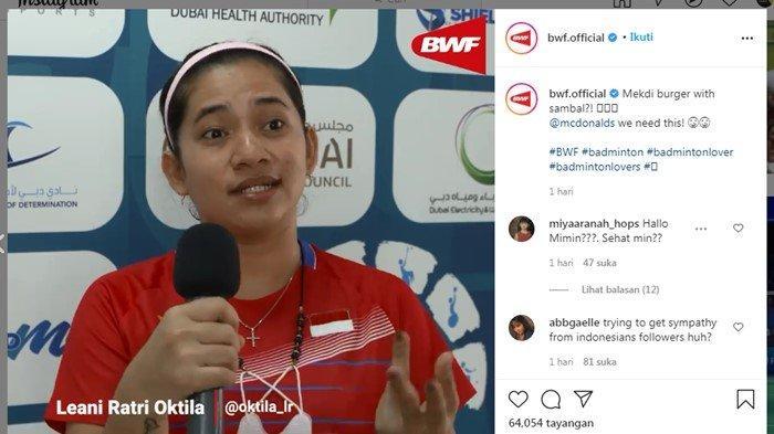 Netizen Indonesia Masih Dendam All England 2021, Kembali Nyinyir di Instagram BWF: Dituding Menjilat