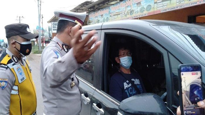 Tanpa Sertifikat Vaksin Dilarang Masuk Palembang, Pengendara Asal Banyuasin Banyak Putar Balik
