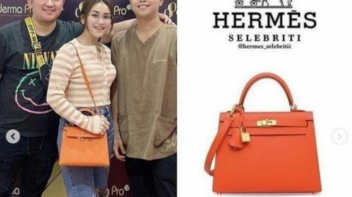 Tas Hermes milik Ayu yang diduga dari Raffi Ahmad