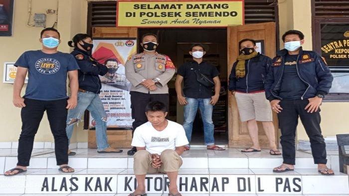 Team Alap-alap Reskrim Polsek Semendo Tangkap Pria yang Bawa Kabur Remaja SMA di Semendo