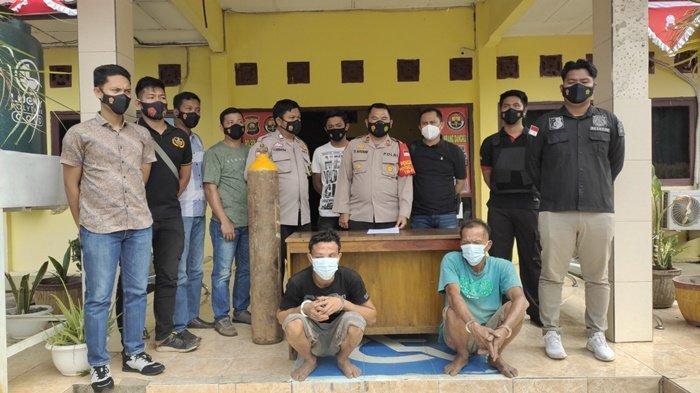 Team Tarantula Polsek Rambang Dangku Amankan Resedivis Pencuri yang Masih Satu Keluarga