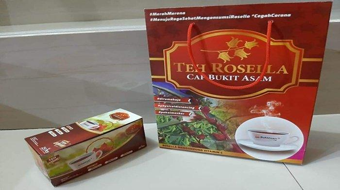 Minuman sehat teh buatan SIBA Rosella